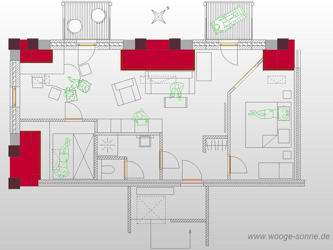 kapit nshaus wohnung 08 loft details wangerooger ferienwohnungen service gmbh. Black Bedroom Furniture Sets. Home Design Ideas